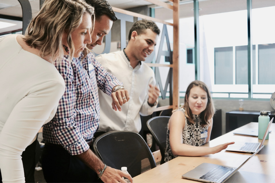 Business Meeting Think Like An Entrepreneur
