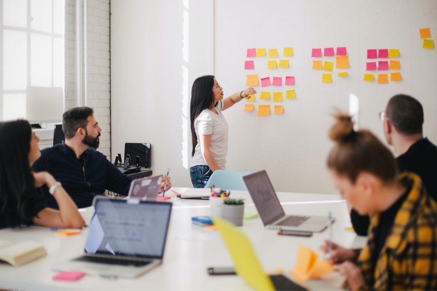 Business Presentation marketing your coaching program