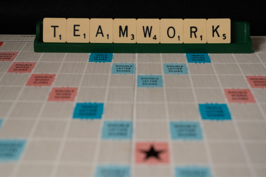 Teamwork Scrabble What Does Leadership Mean